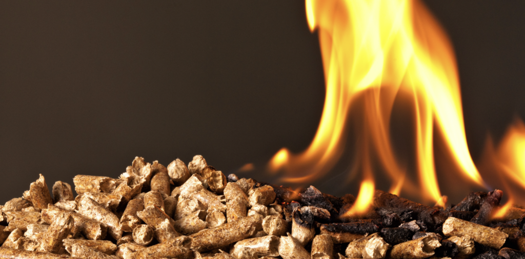 I en pilleovn benytter man træpiller til forbrænding