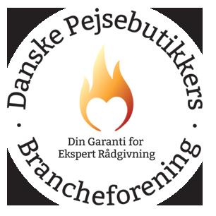 Jeg er medlem af brancheforeningen De danske Pejsebutikker
